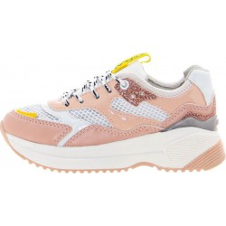 REPLAY KIDS GIRLS SNEAKERS JS240011S DUBAI WHITE/NUDE