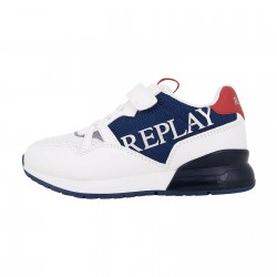 REPLAY KIDS BOYS SNEAKERS JS290007S NAVY/WHITE/RED