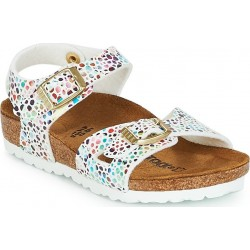 BIRKENSTOCK GIRLS SANDALS 03.03.001.01 MOSAIC WHITE