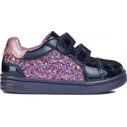 f2cdf1f5d67 GEOX GIRLS SNEAKERS B821WE 0EWHI C4002 NAVY