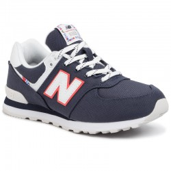 NEW BALANCE BOYS SNEAKERS GC574SOP Navy Blue