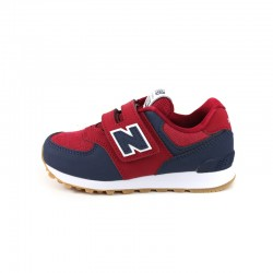 NEW BALANCE BOYS SNEAKERS YV574DMI Red Navy White