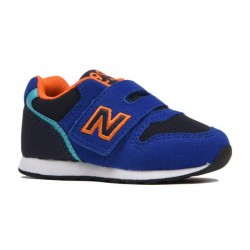 NEW BALANCE BOYS SNEAKERS IZ996TBU BLUE /ORANGE